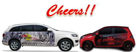 cheers with emi free car