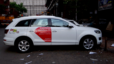 Vodafone with emi free car